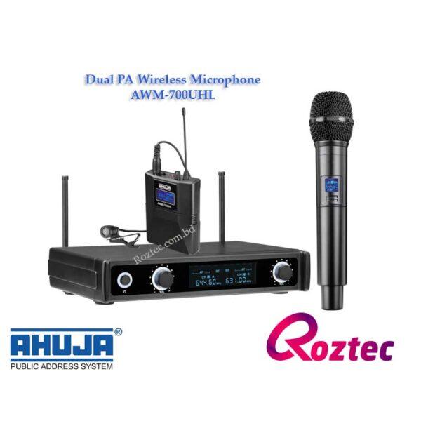 Ahuja PA Wireless Microphone