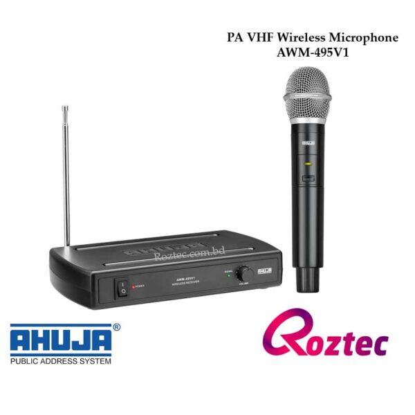 ahuja-professional-wireless-microphone-awm-495v1