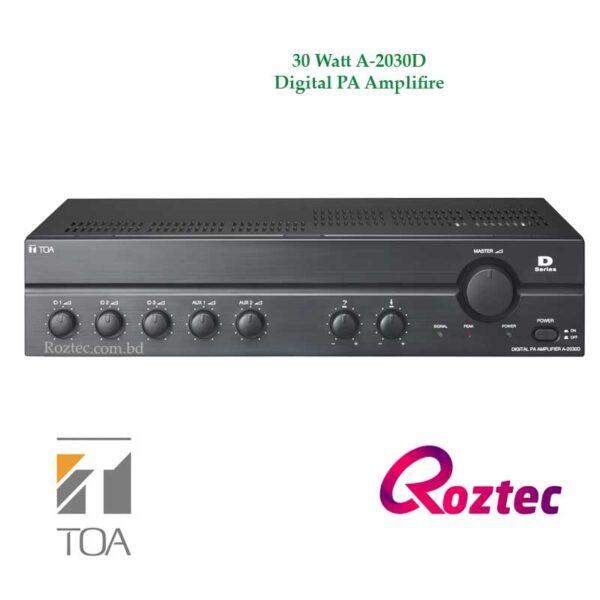 Toa D Series Amplifier A-2030D 30 Watt