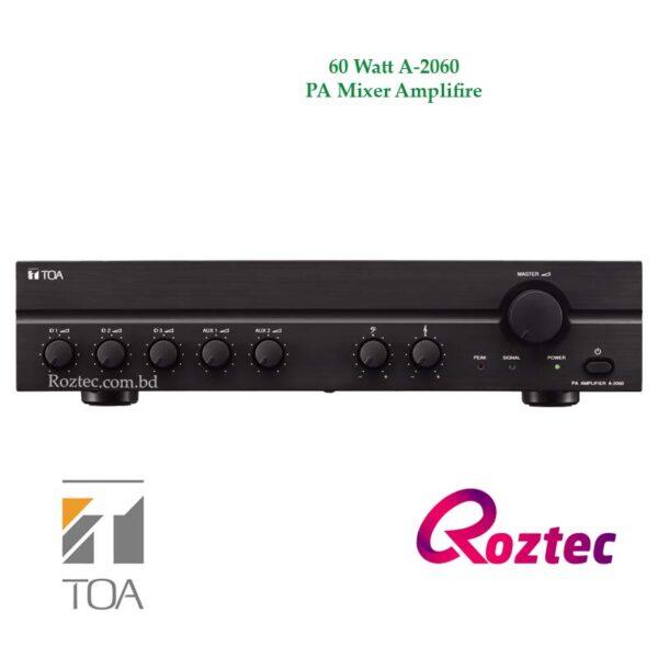 Toa 60 Watt Amplifier A-2060