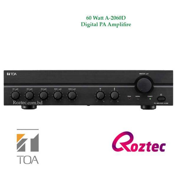 Toa 60 Watt Digital PA Amplifier A-2060D
