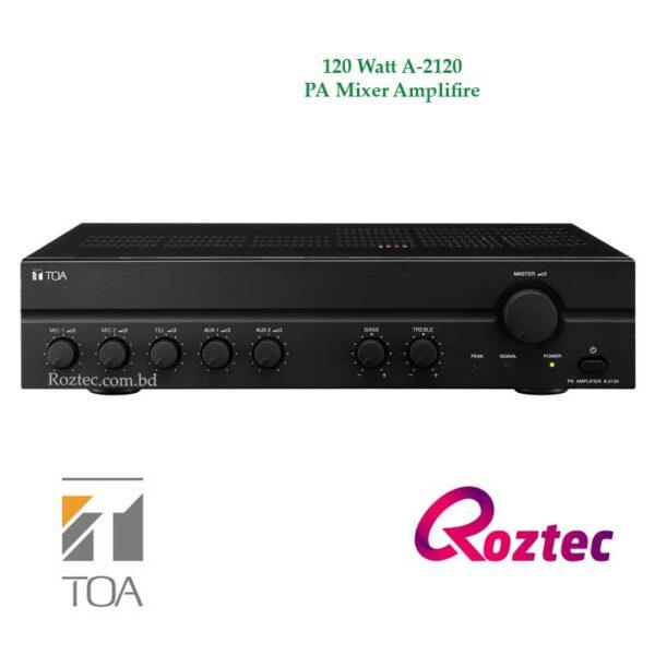 A-2120 Toa 120 Watt Amplifier