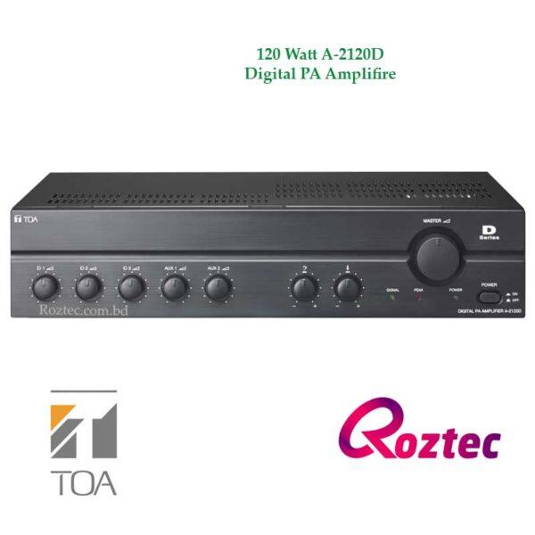 Toa 120W Digital PA Amplifier A-2120D