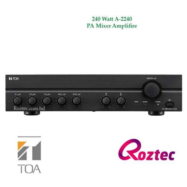 Toa 240 Watt Mixer Amplifier A-2240