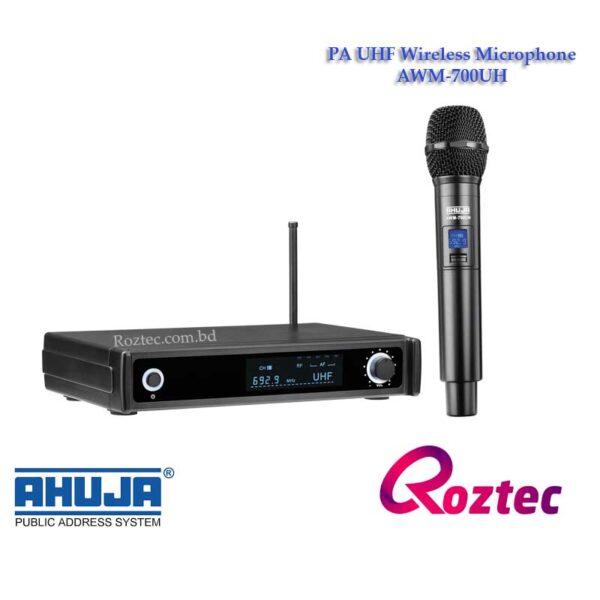 Ahuja PA Wireless Microphone AWM-700UH