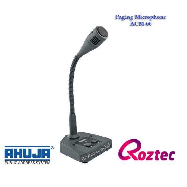 Ahuja Paging Microphone ACM-66