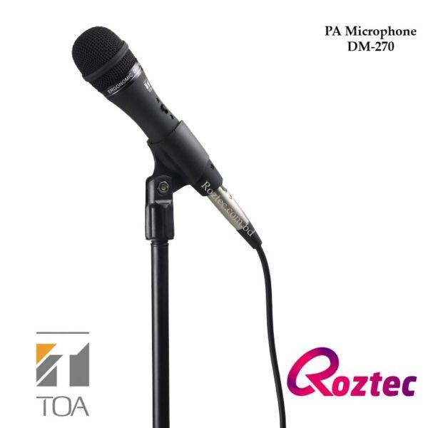 Toa DM-270 Dynamic Microphone