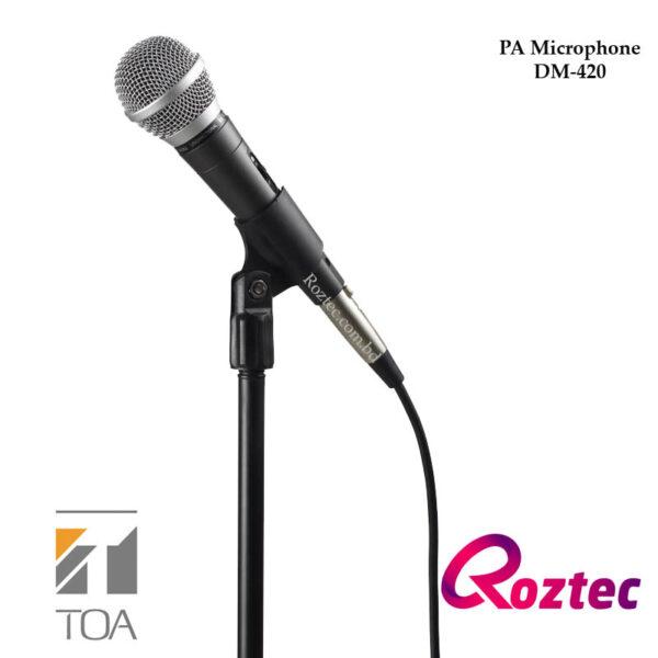Toa Handheld Microphone DM-420