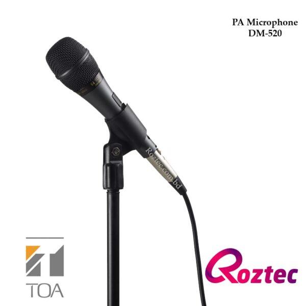 PA Hand Microphone Toa DM-520