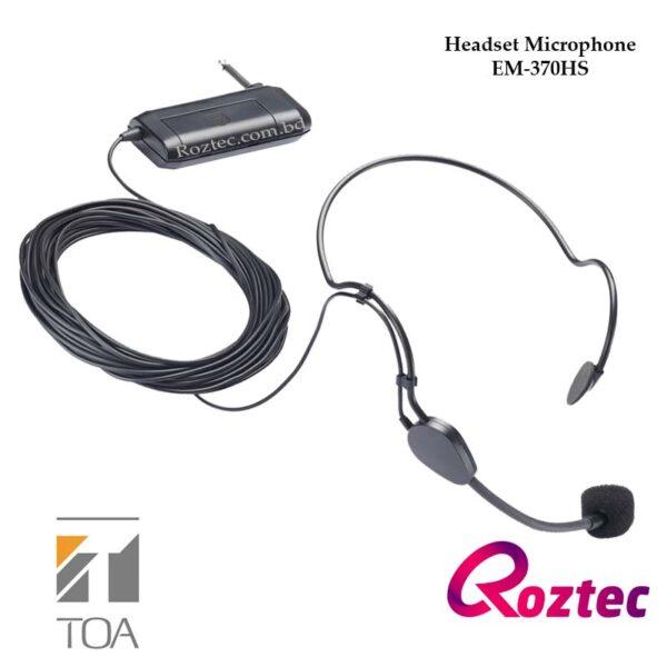 Toa Headset Microphone EM-370