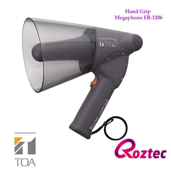 Toa Hand Grip Megaphone ER-1206 (10W max.) Splash-proof