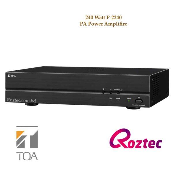 Toa Power Amplifier P-2240