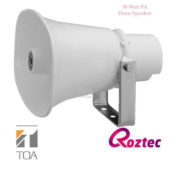 30 Watt PA Horn Speaker Toa SC-630M