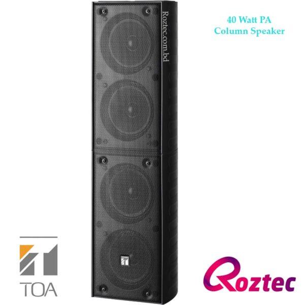 Toa 40Watt PA Column-Speaker TZ-406B