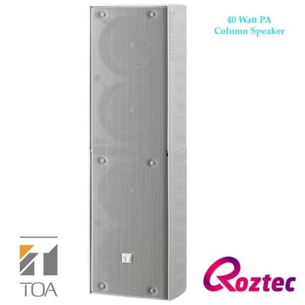 PA Column Speaker 40Watt TZ-406W Toa