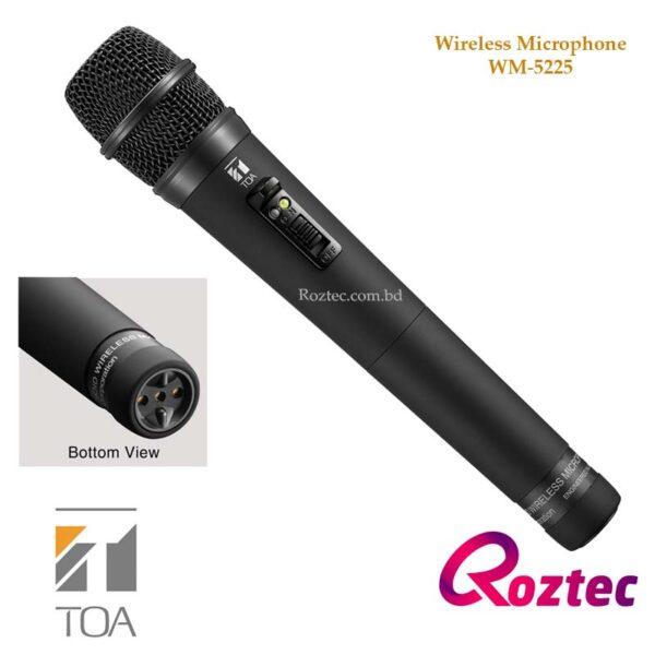 Toa Wireless Hand Microphone WM-5225