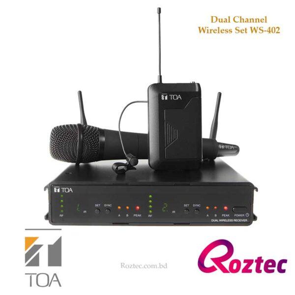 Toa Wireless Microphone WS-402