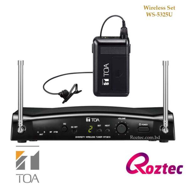 Toa Wireless Microphone Set