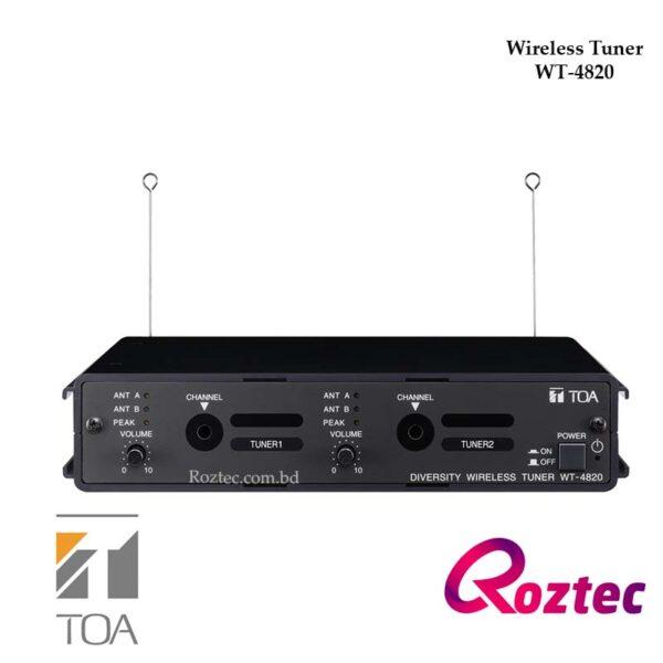Wireless Receiver/Tuner WT-4820 UHF