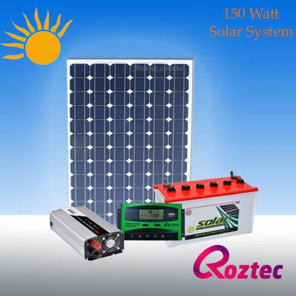 150 Watt Solar System Package